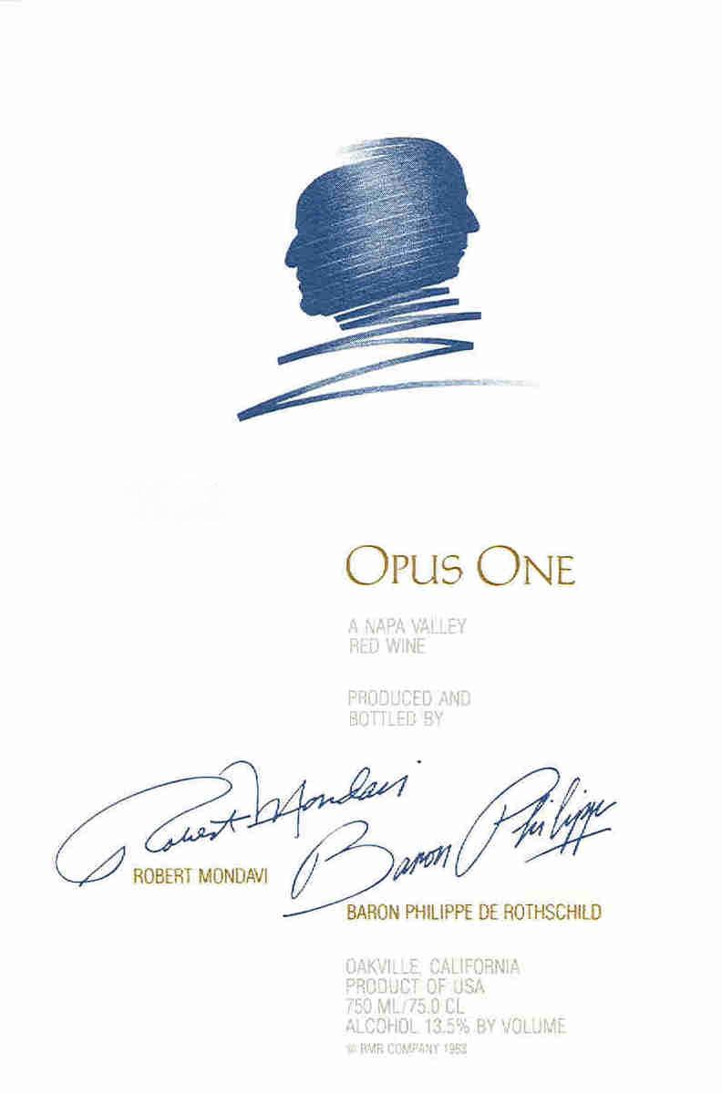 opus one ������ owc of 6 superb wine